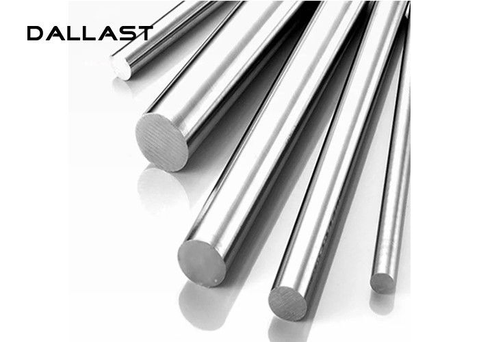 Hot Rolled Piston Chrome Plated Rod Tubes Customized 45#  55-65HRC Surface Hardness